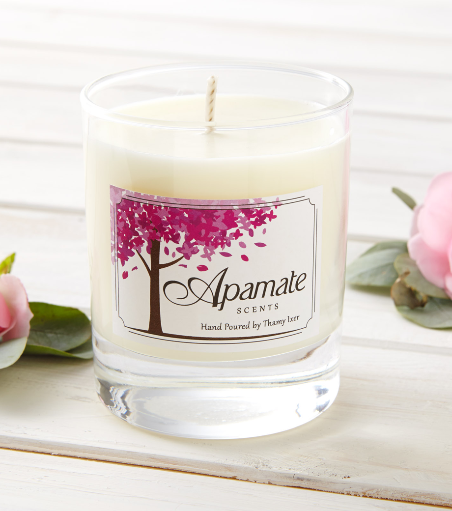 Scented Candle with cotton wick