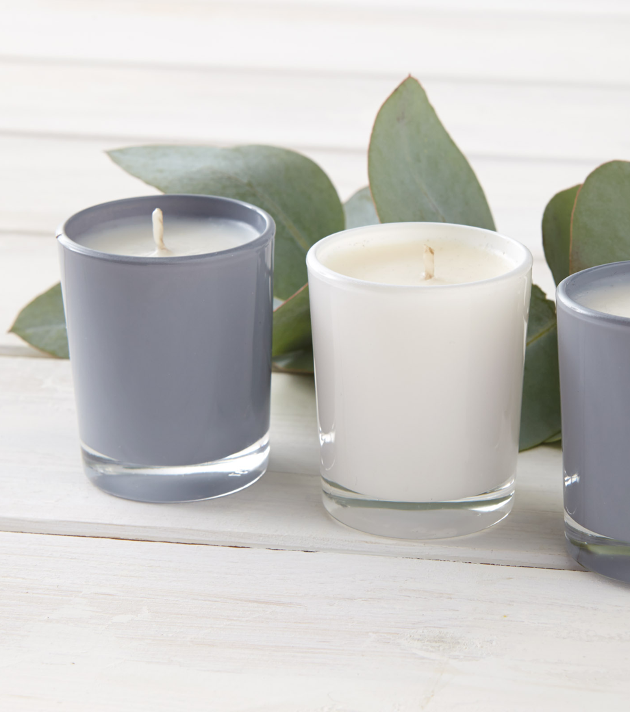 Gift box set of 3 votive candles