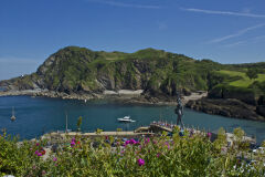 Ilfracombe Harbour and Verity