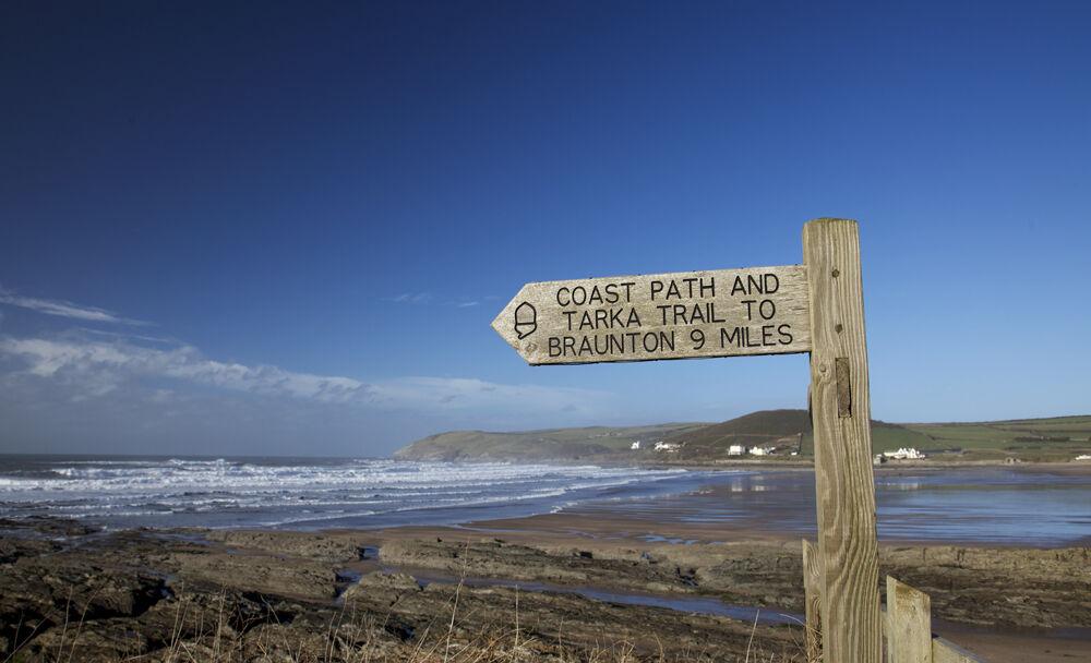 Walking the Coastal Path