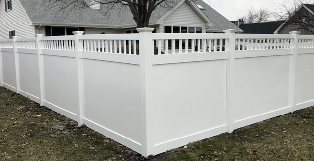 Privacy Vinyl Fencing A Fence Above The Rest