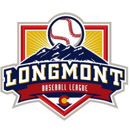 Longmont baseball logo