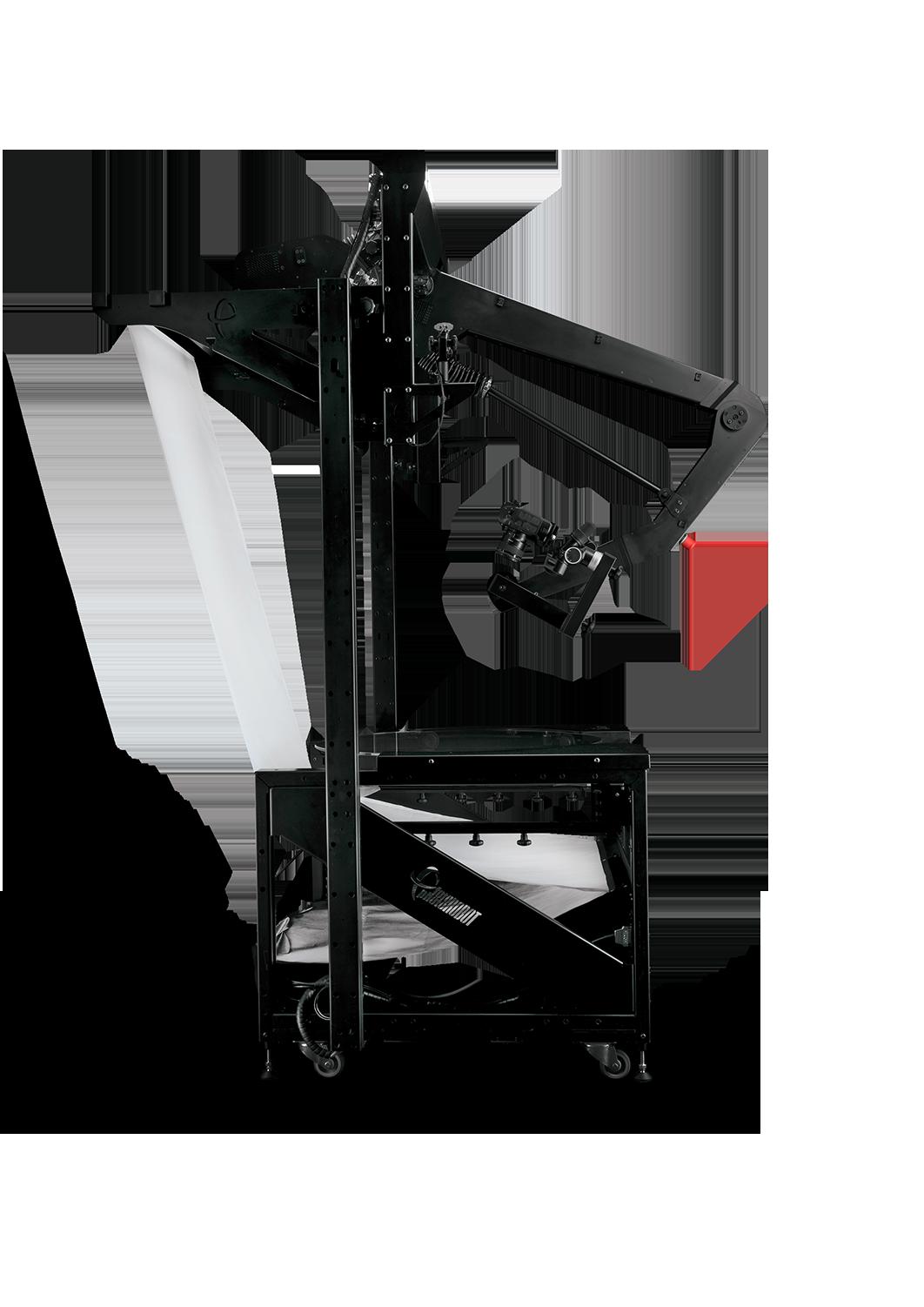 PhotoRobot VARIO - külgvaade