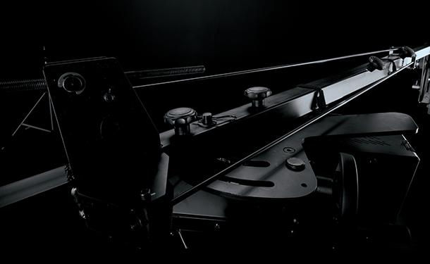PhotoRobot ARM - פירוט של חיבור סכין מצלמה