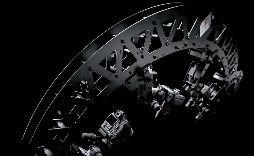 PhotoRobot MULTICAM - struktur av maskinarm