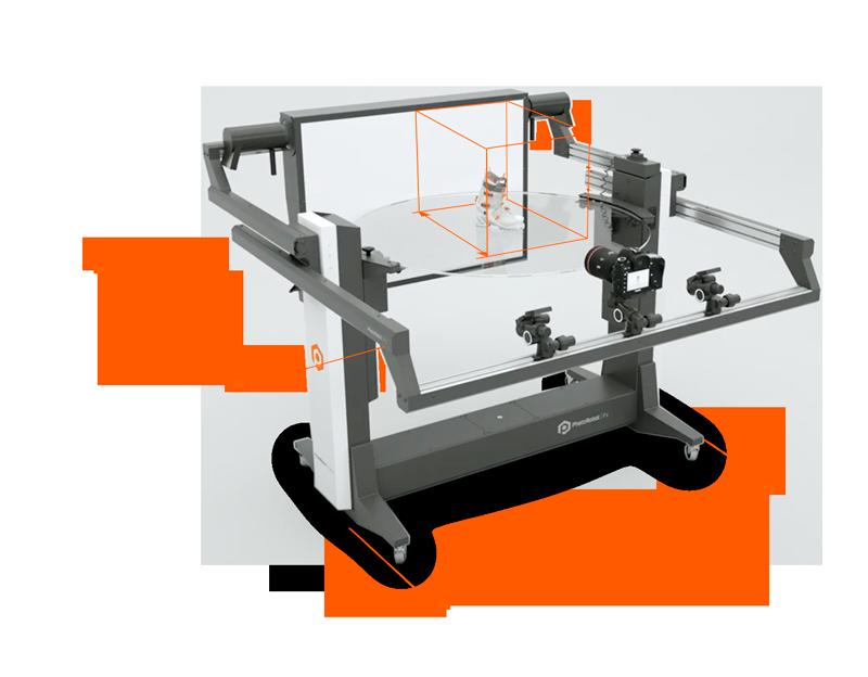 PhotoRobot FRAME - basic dimensions