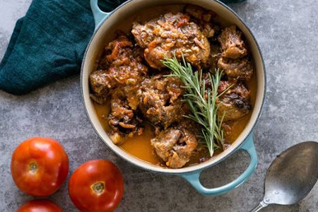 Slow cooked Tomato Oxtail