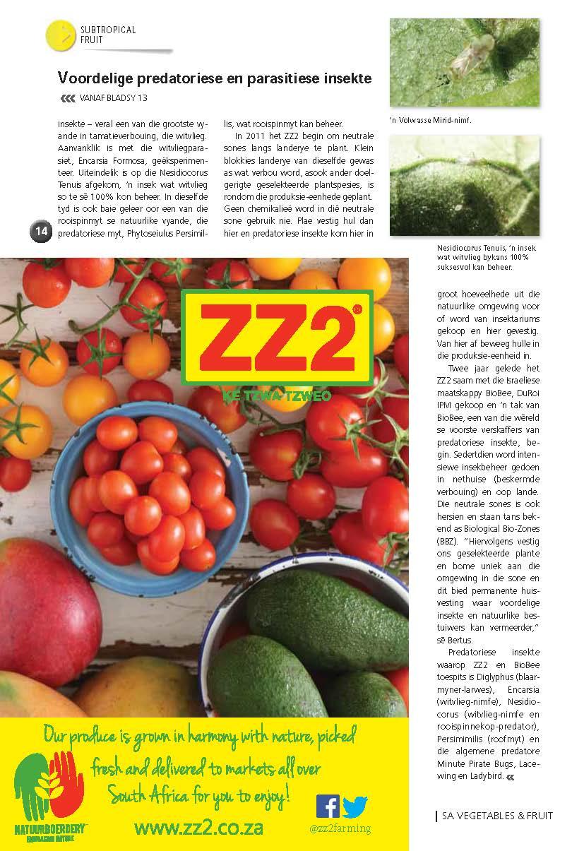 ZZ2 verkies die natuurlike manier