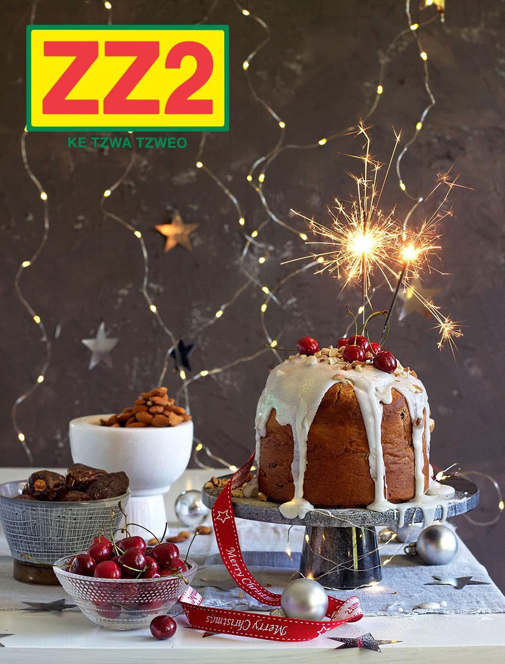 ZZ2 Festive Fruit Cake