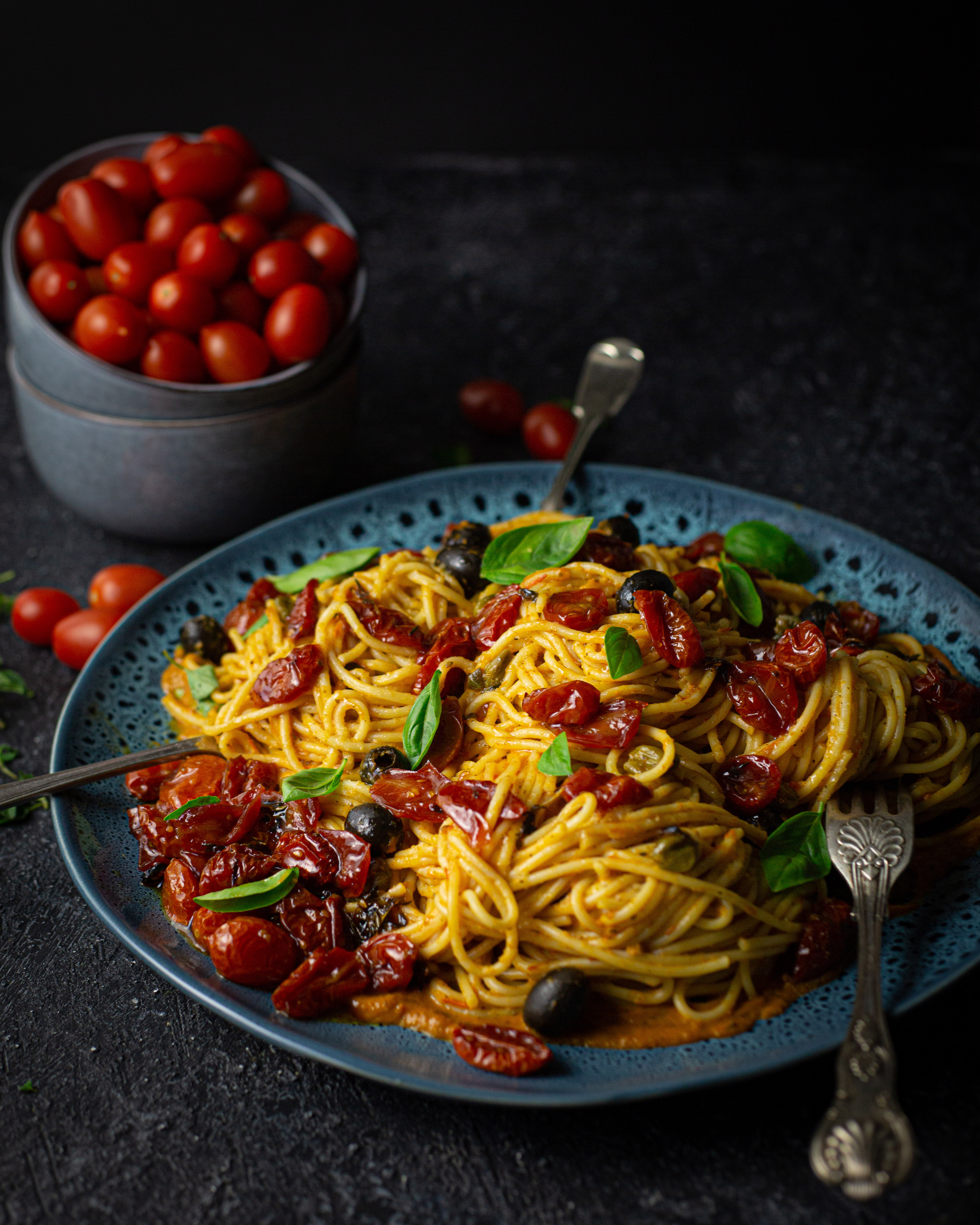 Tomato two way spaghetti