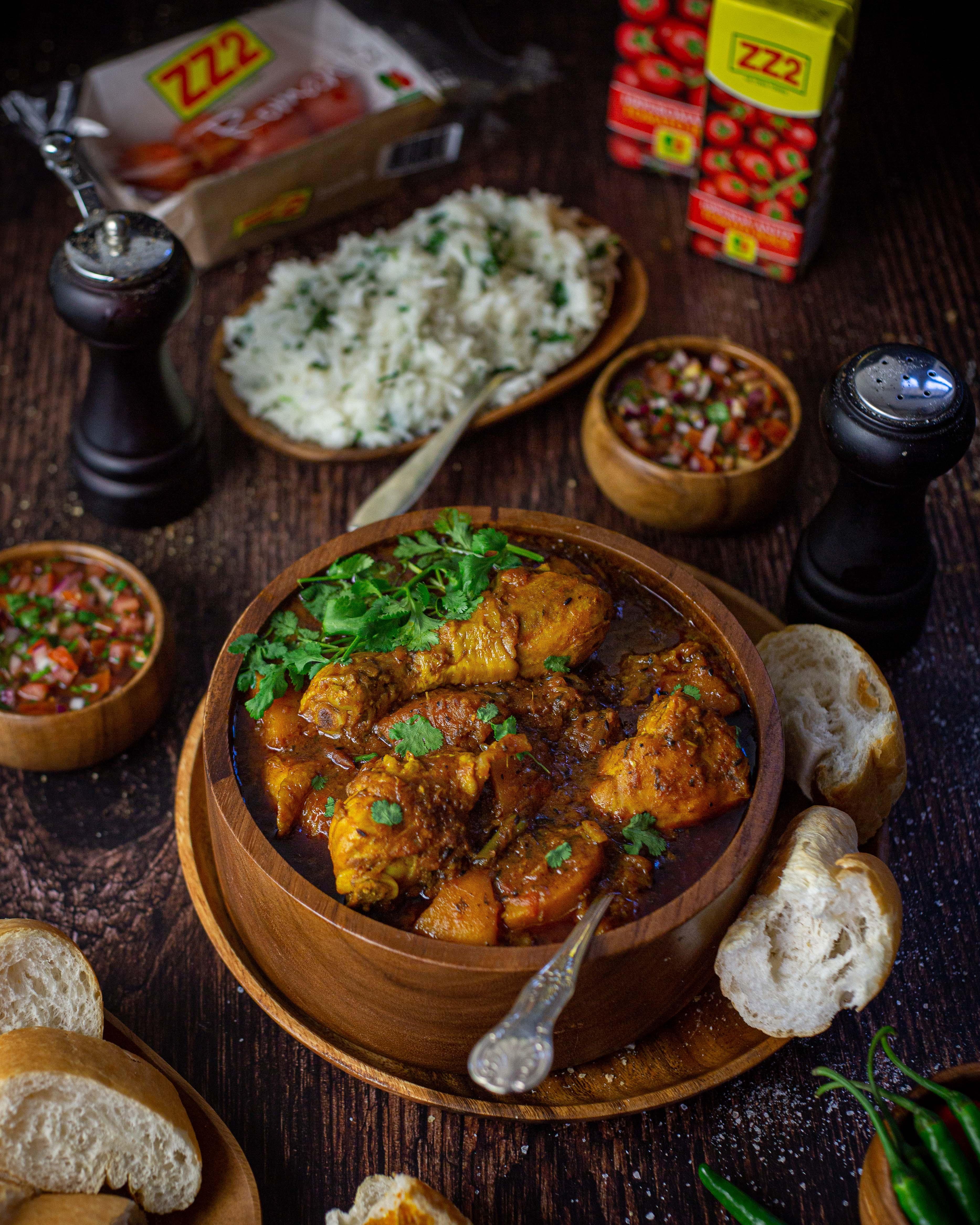 Butternut & Chicken Romanita Tomato Curry