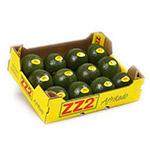 ZZ2 Avocados 4 or 8kg Cardboard Boxes