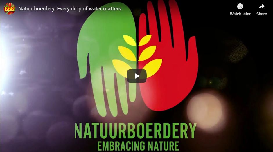 Every drop of water matters video