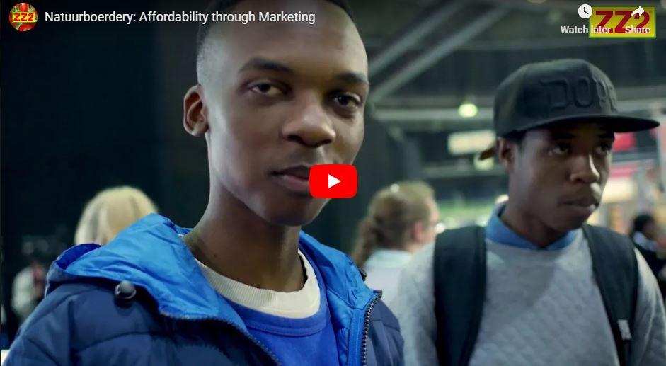 Affordability through marketing video