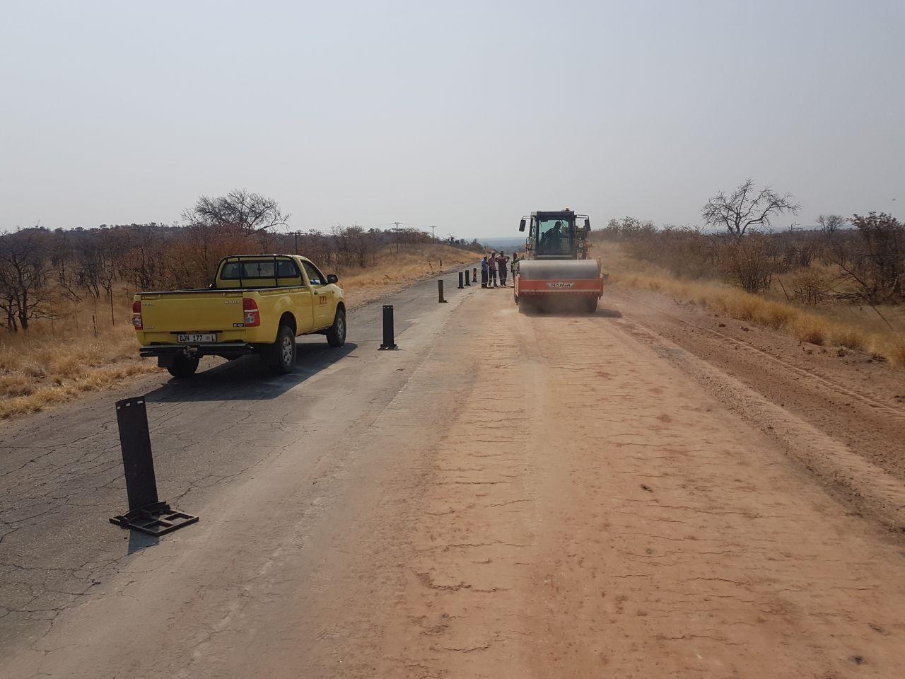ZZ2 working on the roads