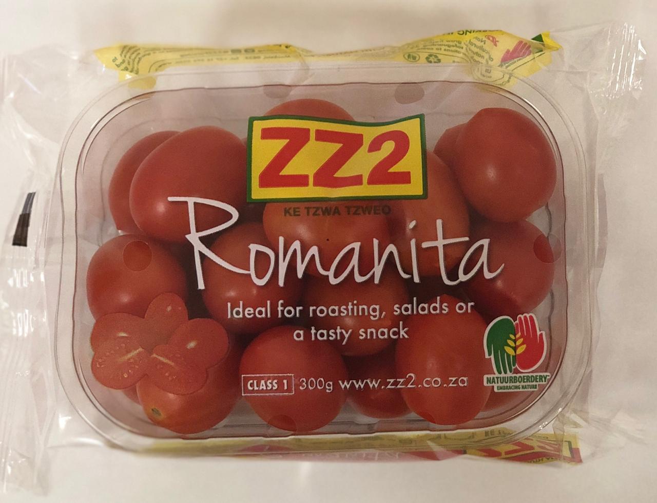 ZZ2 Romanita Tomatoes