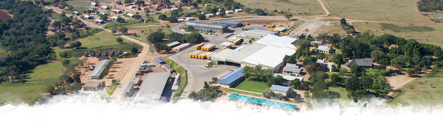 Aerial view of ZZ2 Head Office