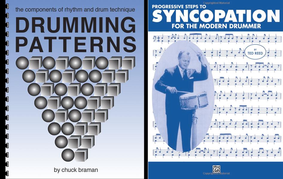 Progressive Steps To Syncopation vs. Drumming Patterns