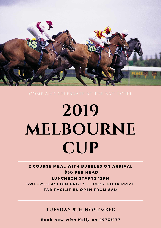 Melbourne Cup 2019 Promo