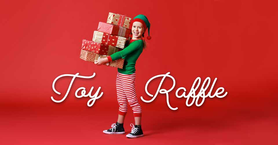 Huge Toy Raffle