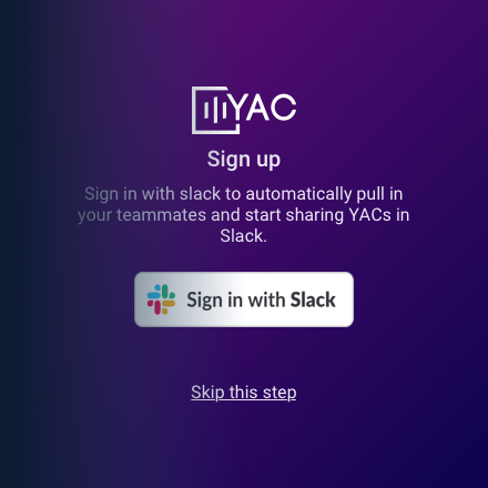 YAC | Voice Messaging for Remote Teams