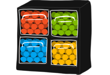 Organized Balls