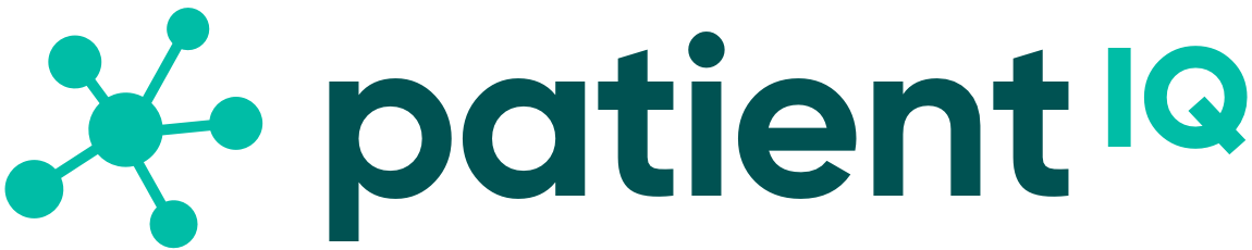 PatientIQ Logo (White Background)