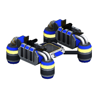 Floating Hovercraft Platform