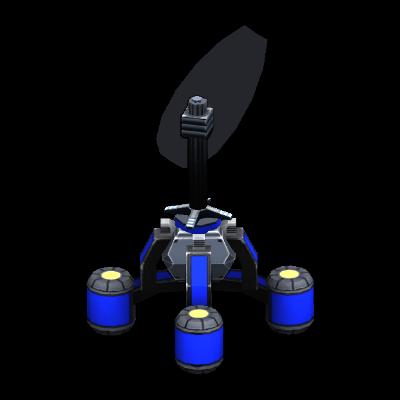 Floating Radar/Sonar Tower
