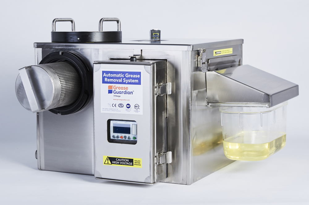 Automated Grease Recovery Device - Grease Guardian