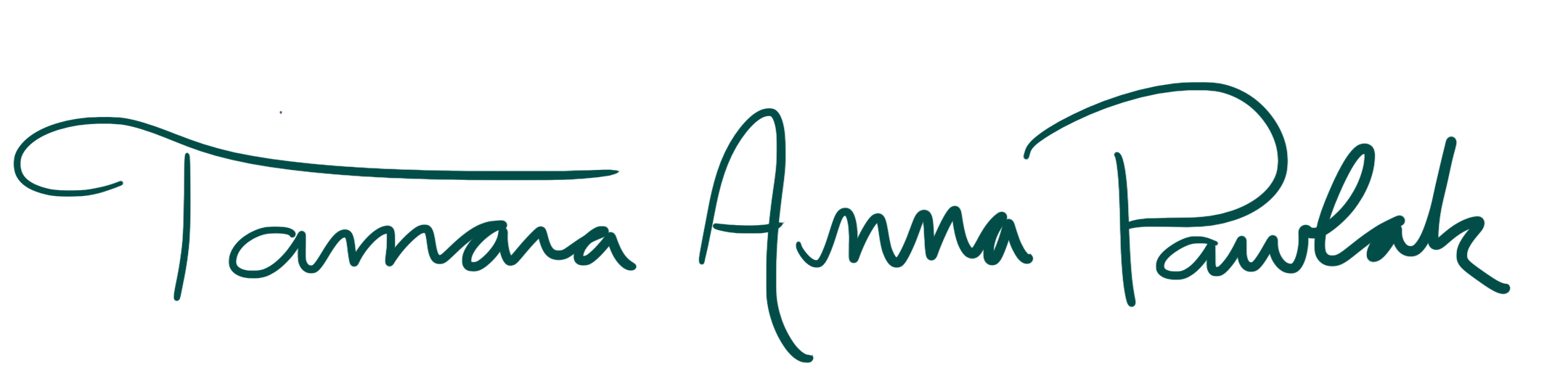 Signature of Tamara Anna Pawlak