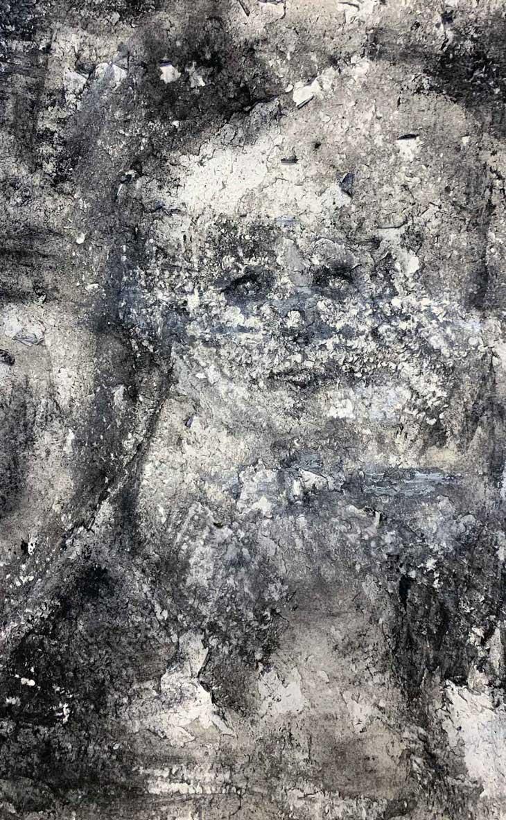"""Claire,"" painting by Tamara Anna Pawlak"