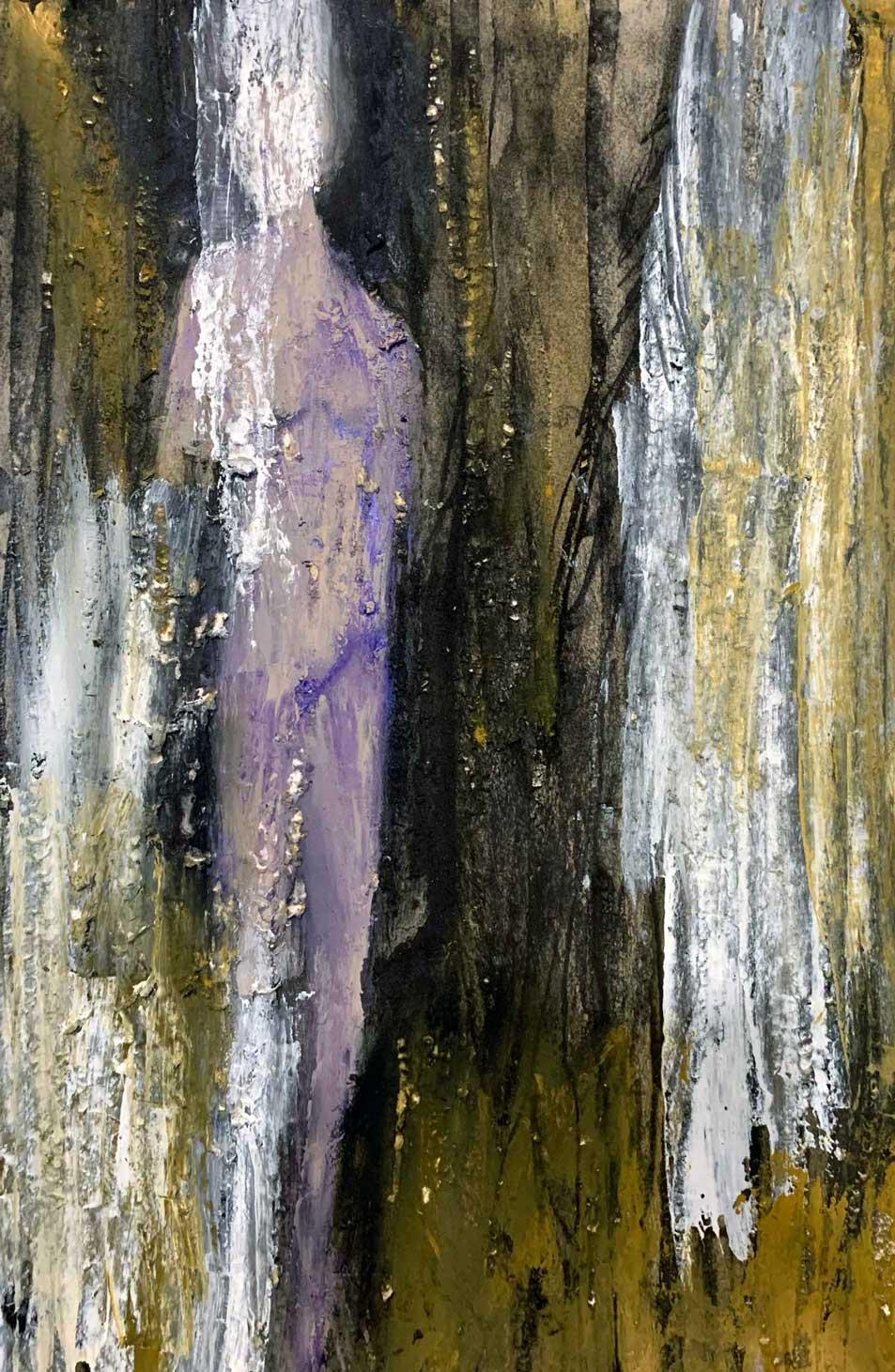 """Skin Walker,"" painting by Tamara Anna Pawlak"