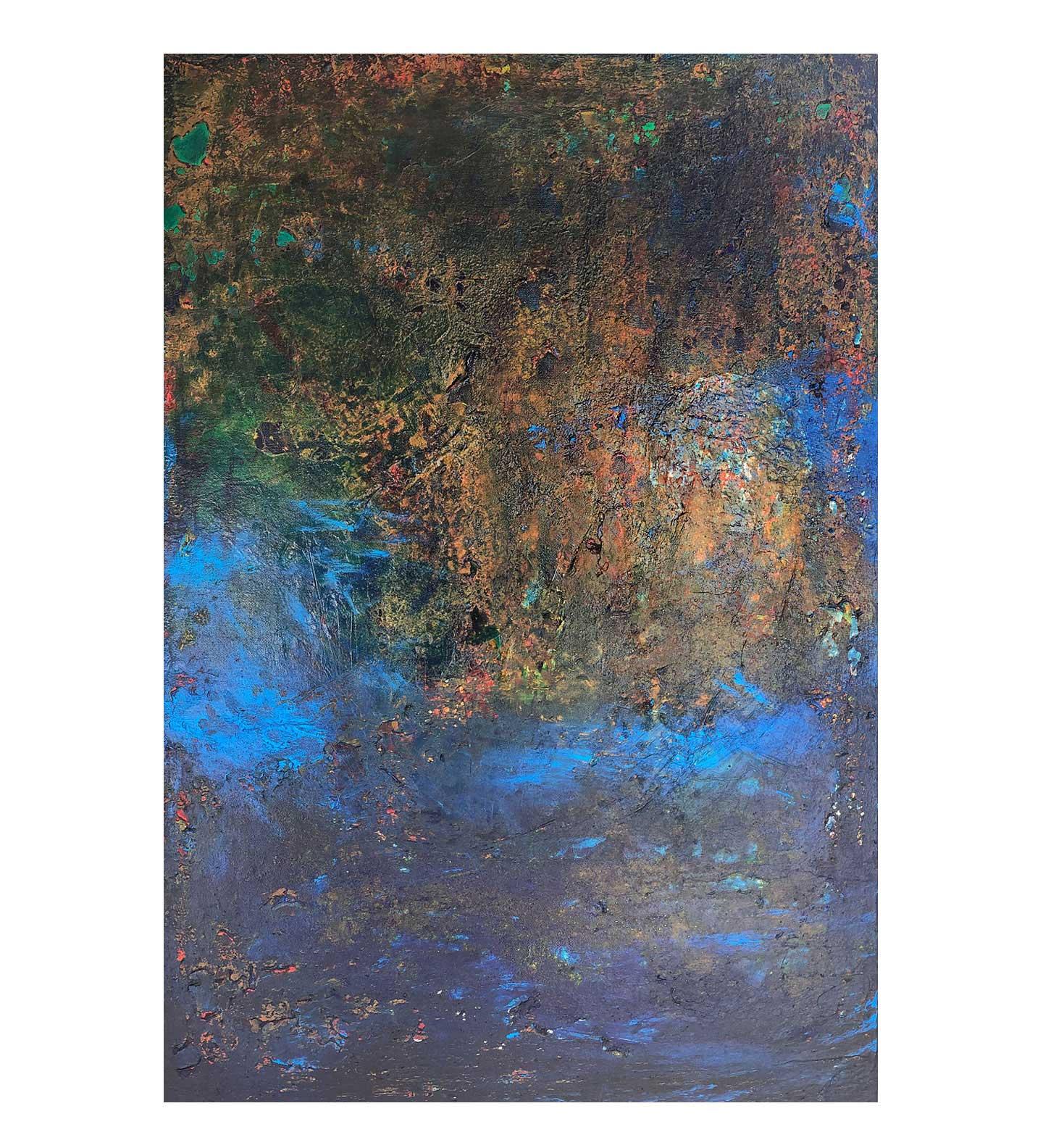 """Terra,"" painting by Tamara Anna Pawlak"