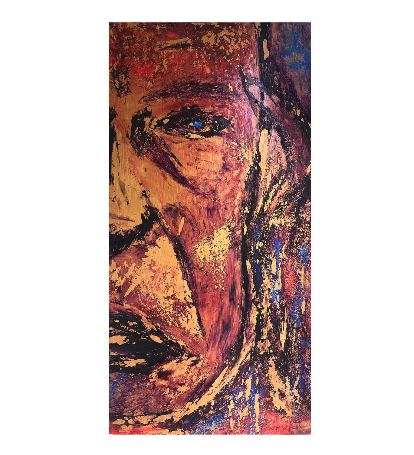 """""""Iggy,"""" painting by Tamara Anna Pawlak"""