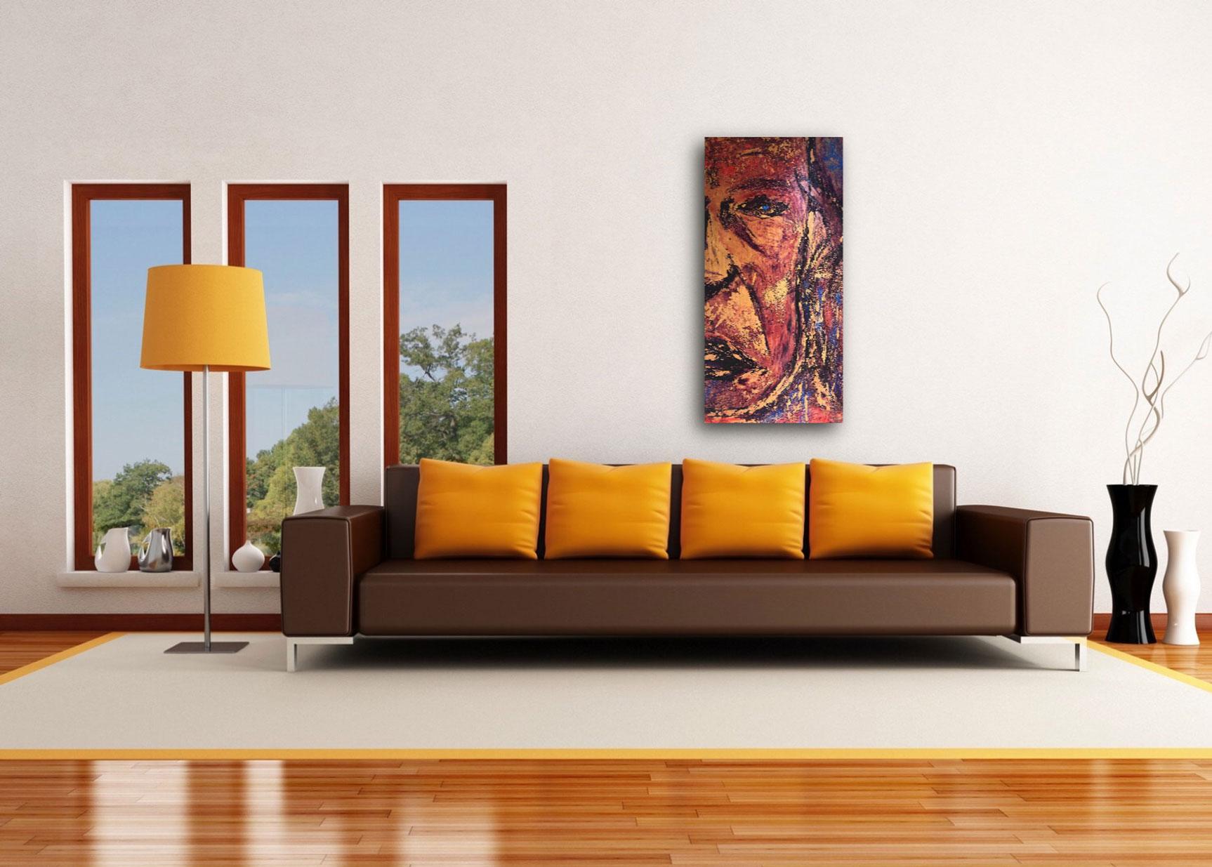 "Gallery image of ""Iggy,"" painting by Tamara Anna Pawlak"