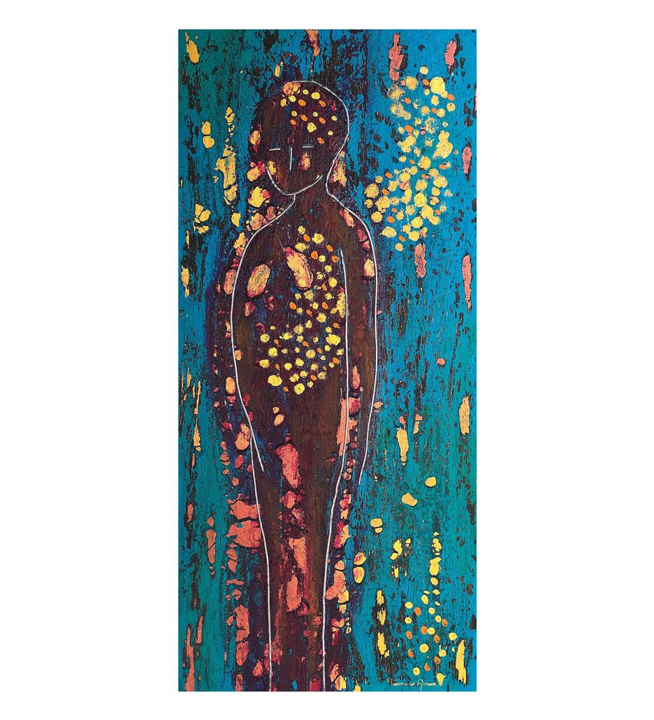 """Emmanuel,"" painting by Tamara Anna Pawlak"