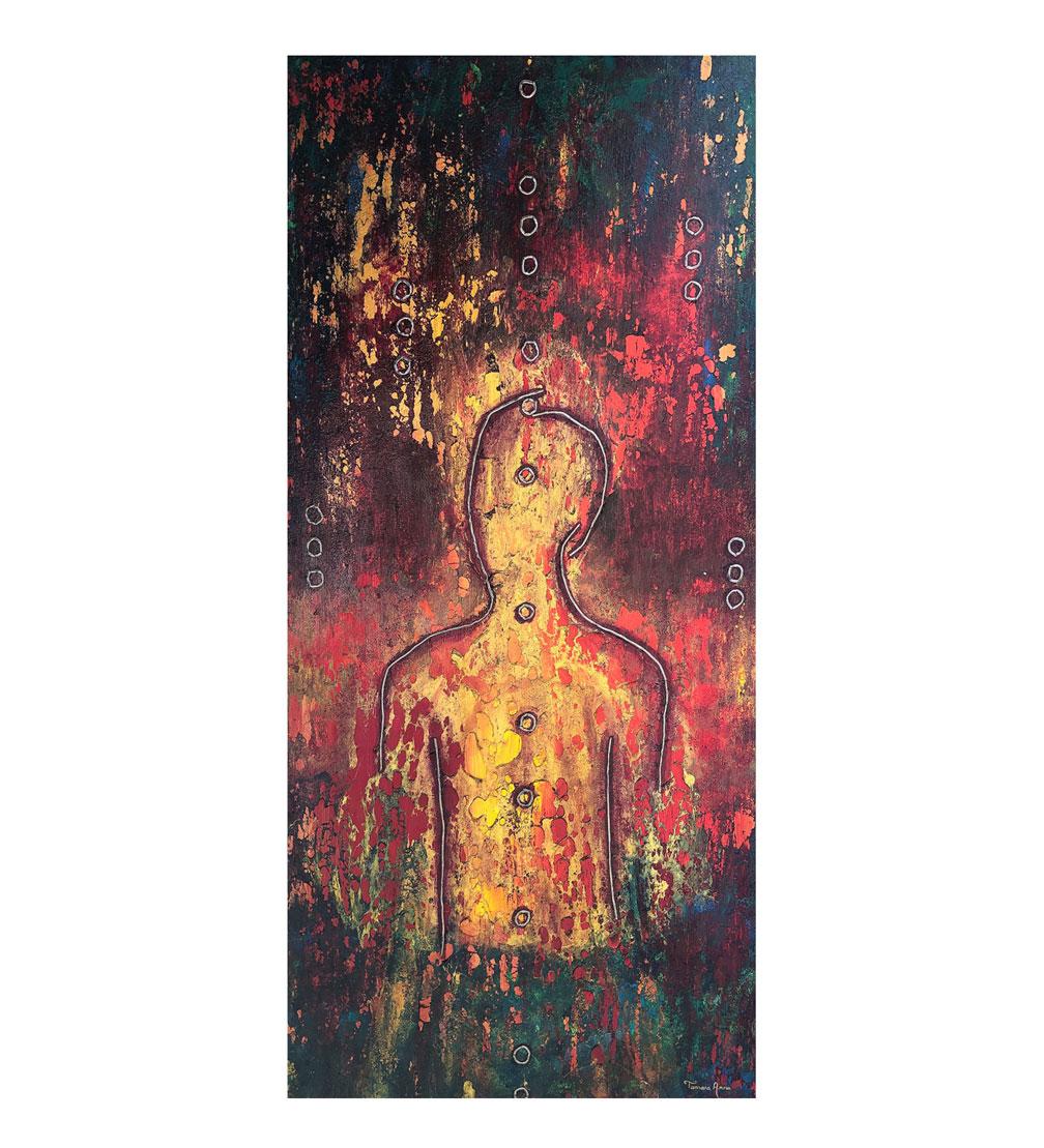 """Sun King,"" painting by Tamara Anna Pawlak"