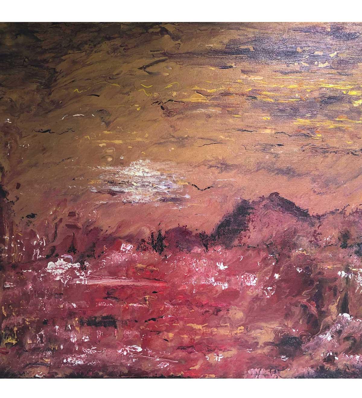 """Spirit,"" painting by Tamara Anna Pawlak"