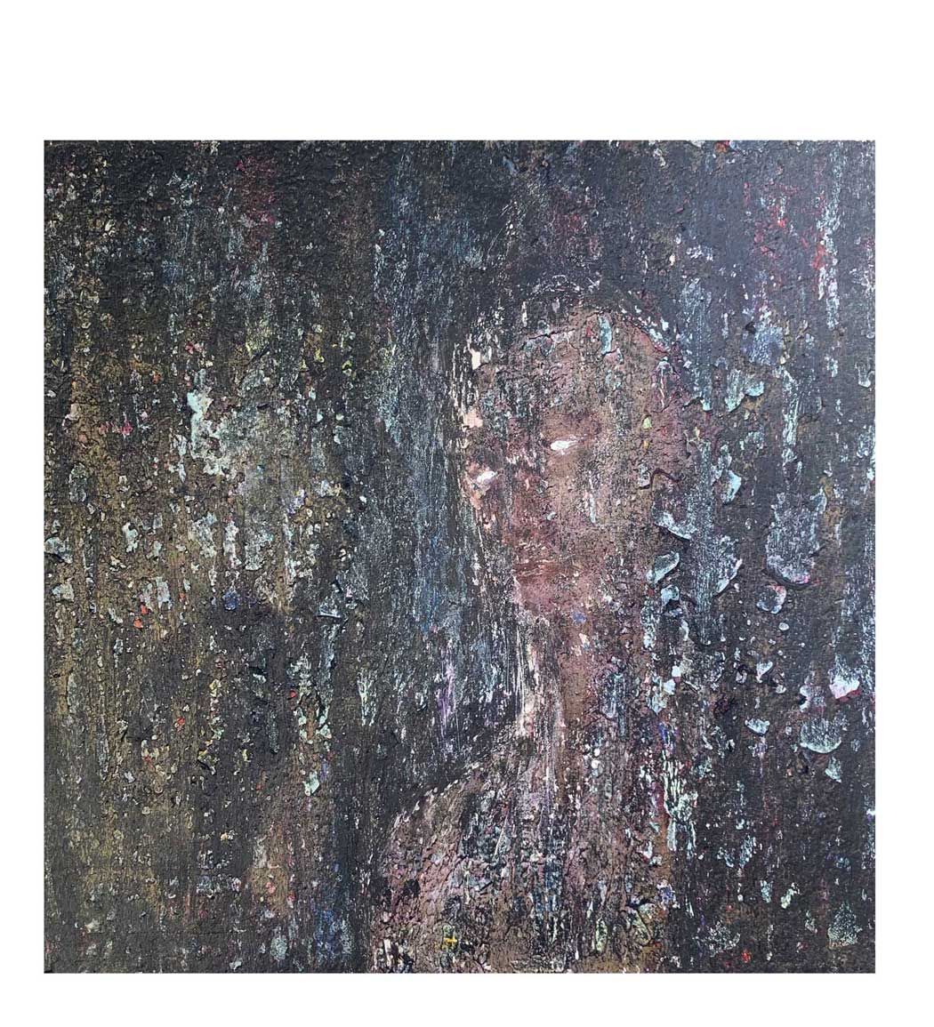 """Shadow,"" painting by Tamara Anna Pawlak"