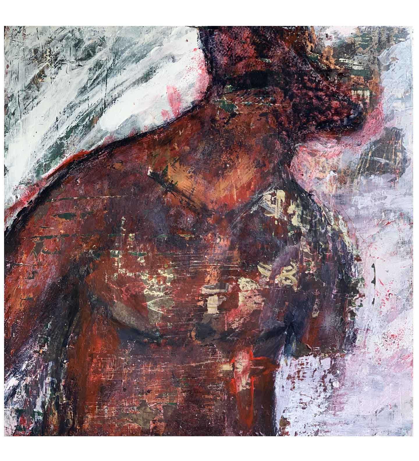 """Didactic,"" painting by Tamara Anna Pawlak"