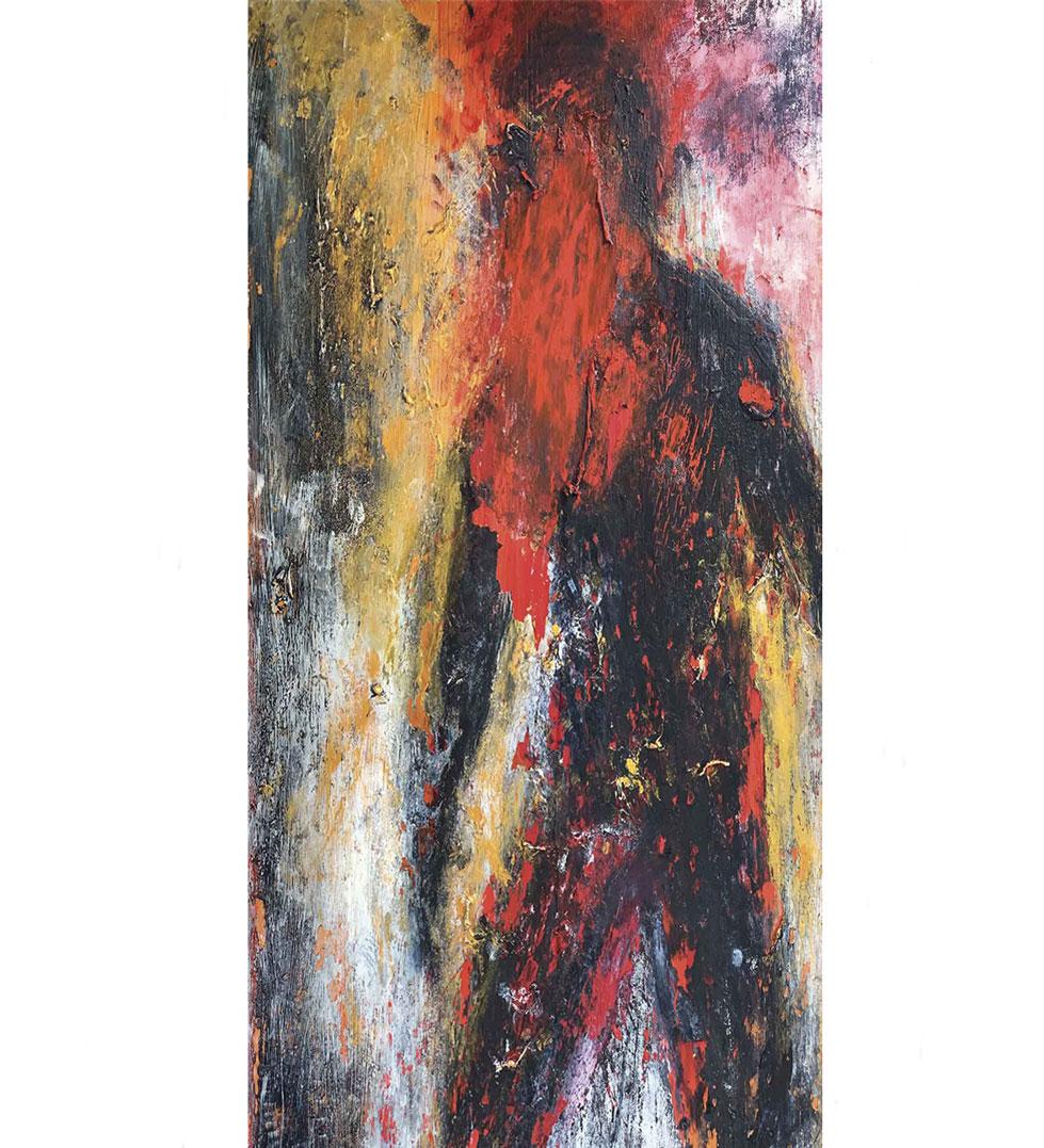 """""""Serenity,"""" painting by Tamara Anna Pawlak"""