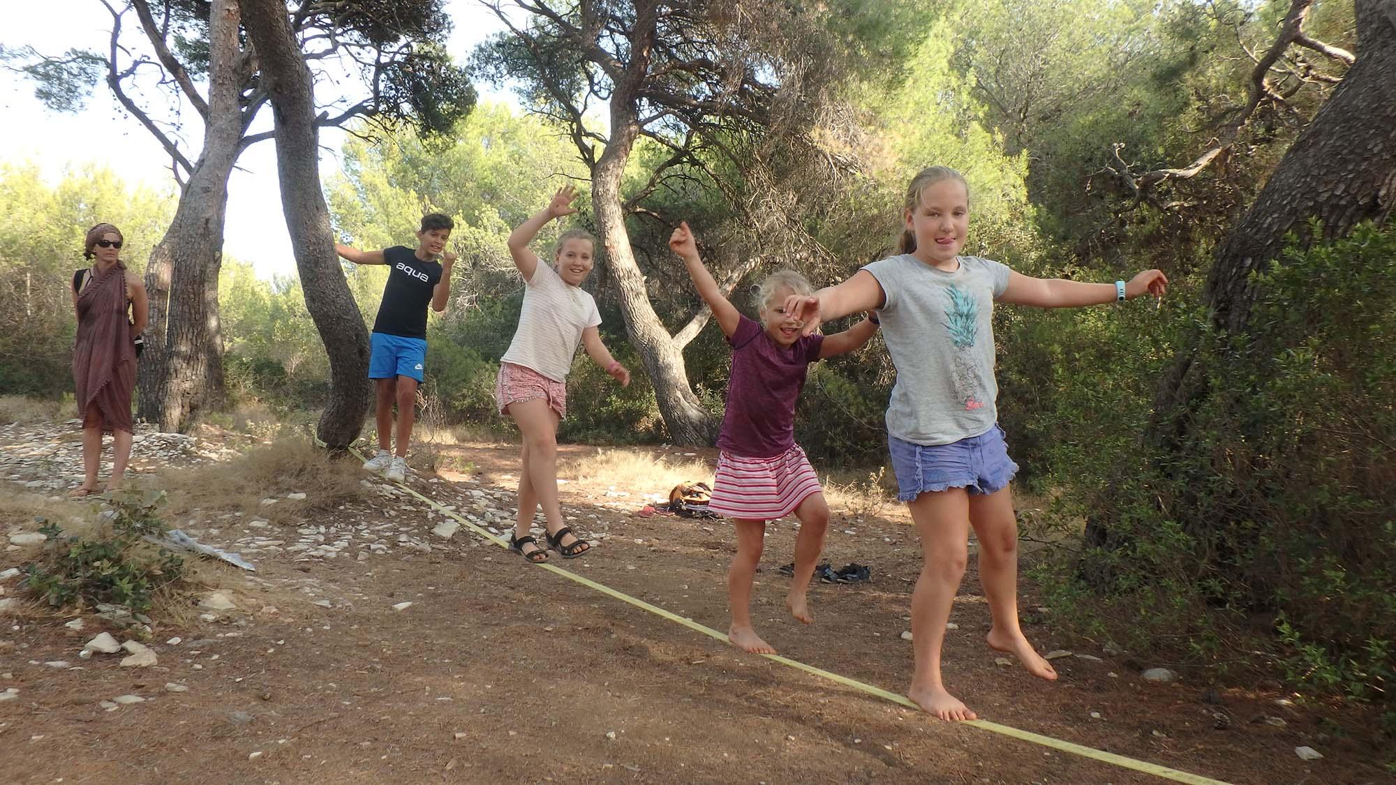 Family activity holiday
