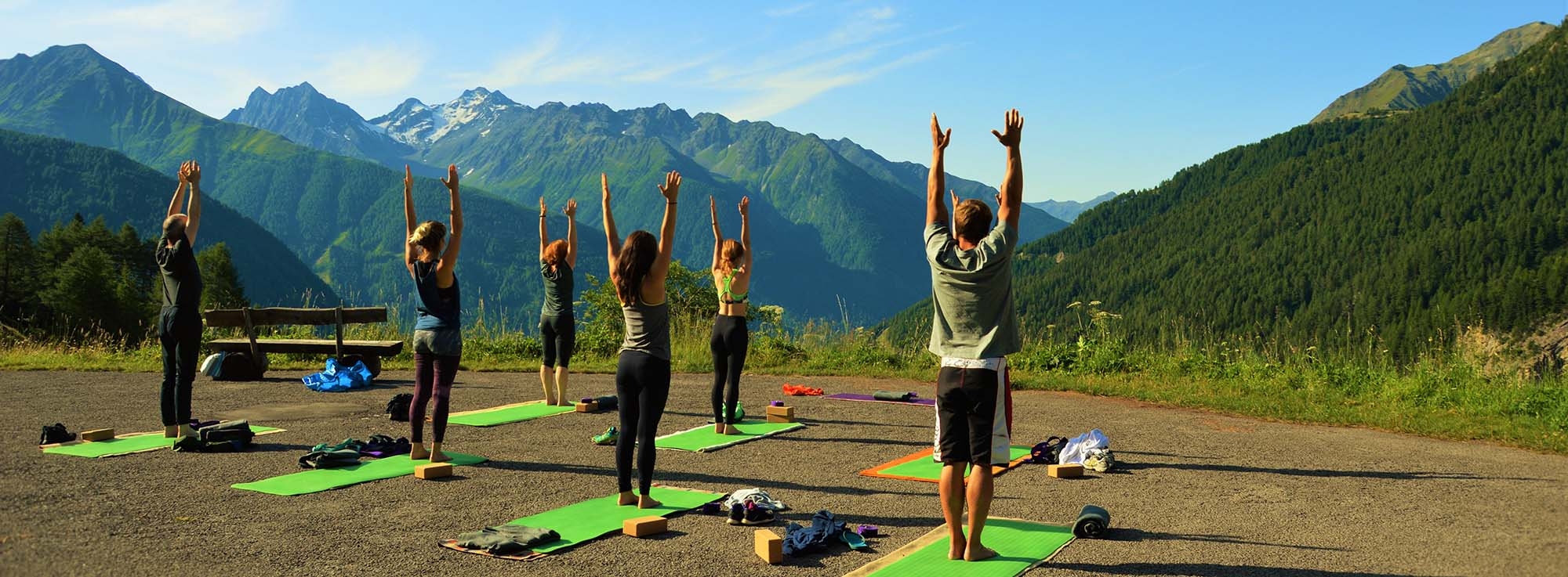 Yoga and hiking holiday in Austria