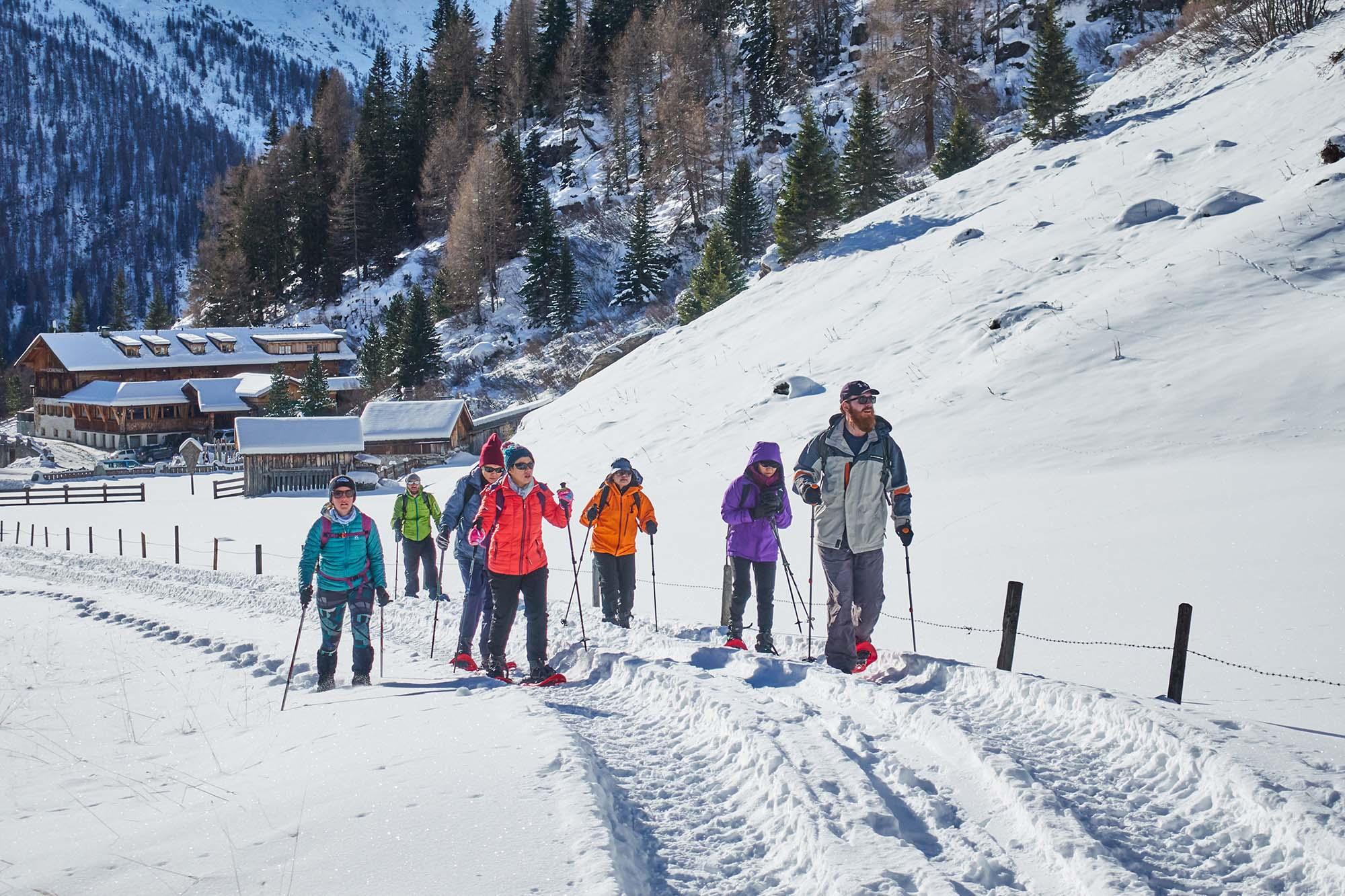 Austria winter holiday