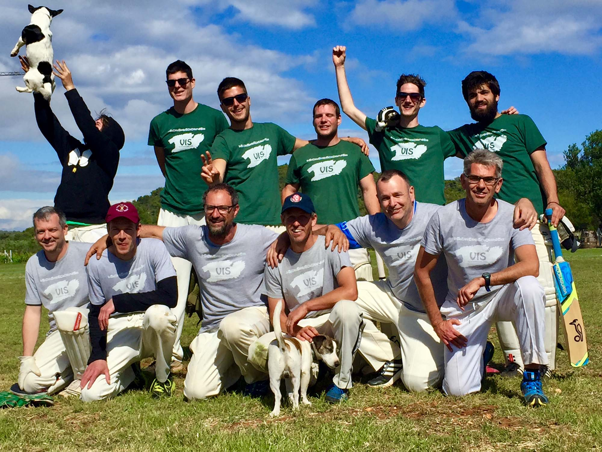 Vis island cricket team