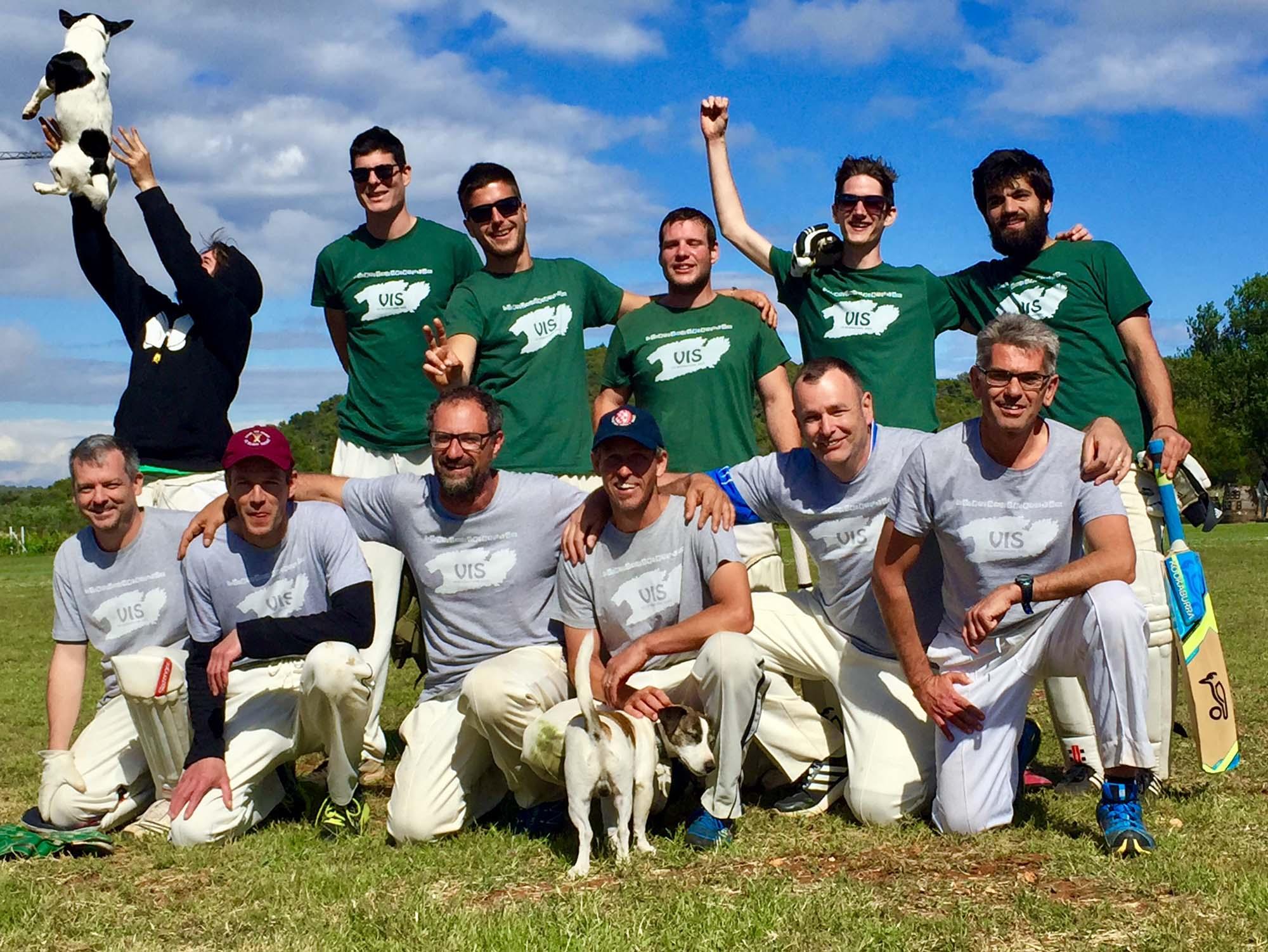 Vis island cricket team