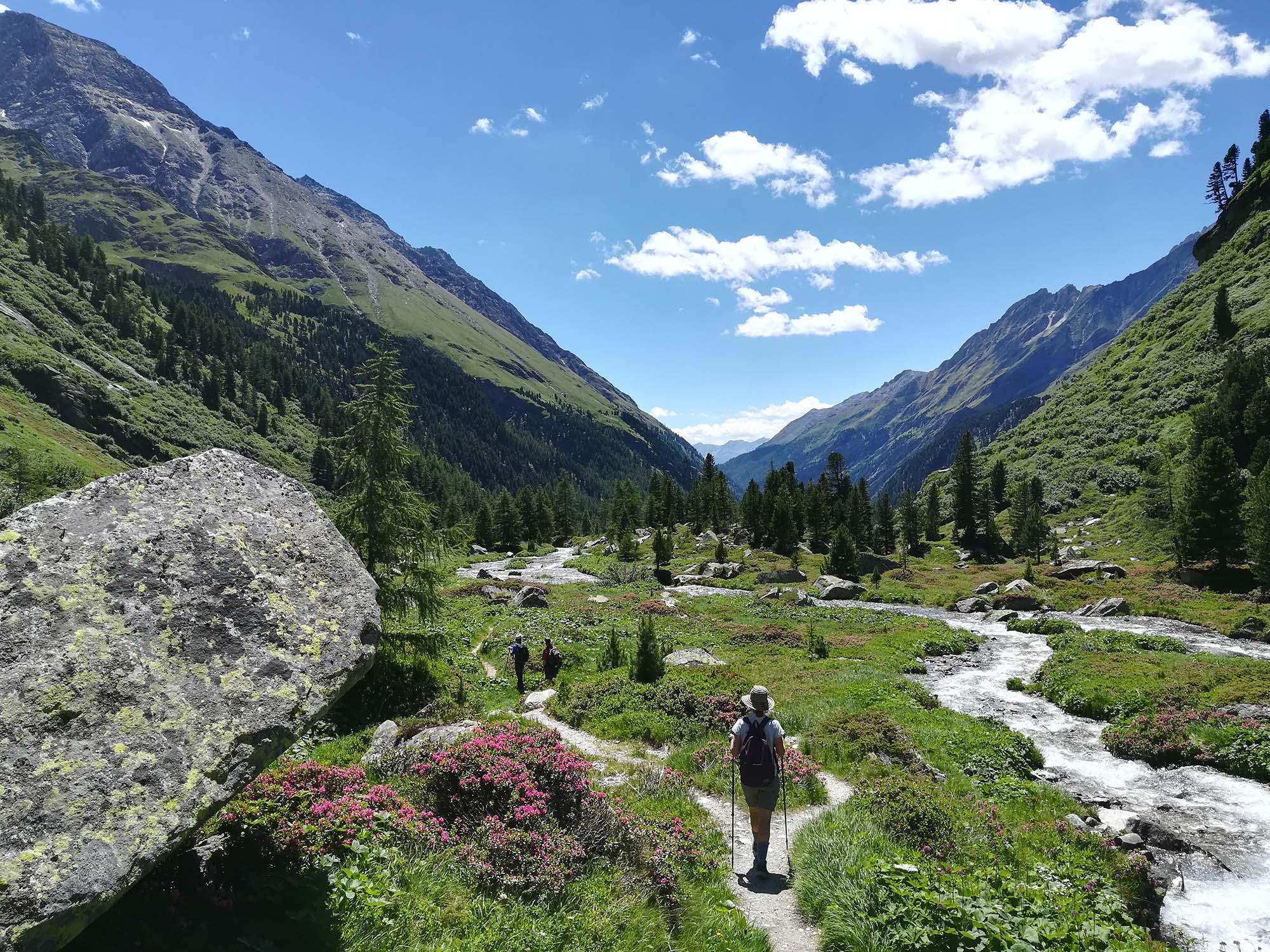 Austrian mountain holiday