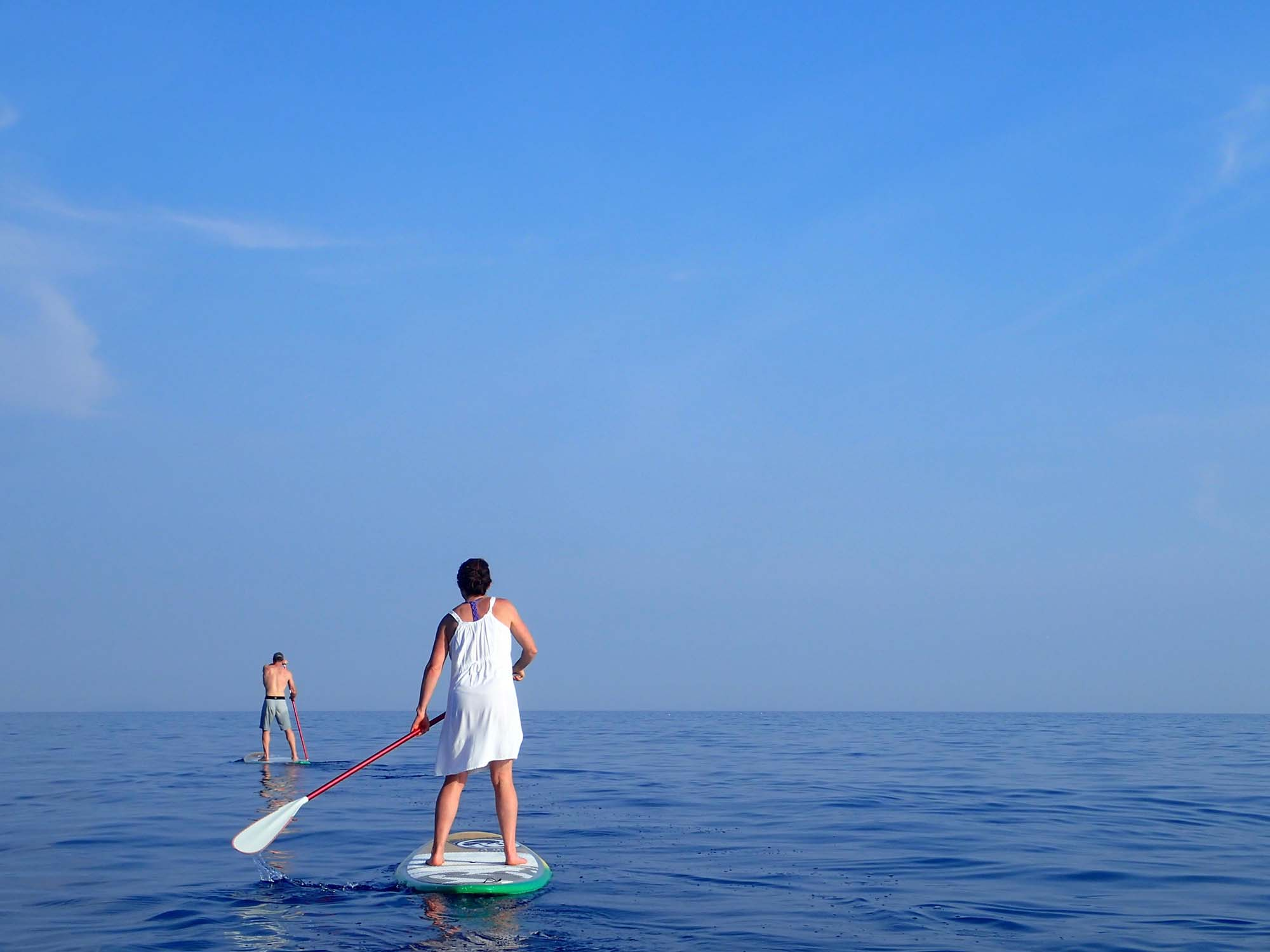 SUP adventure in Rukavac bay