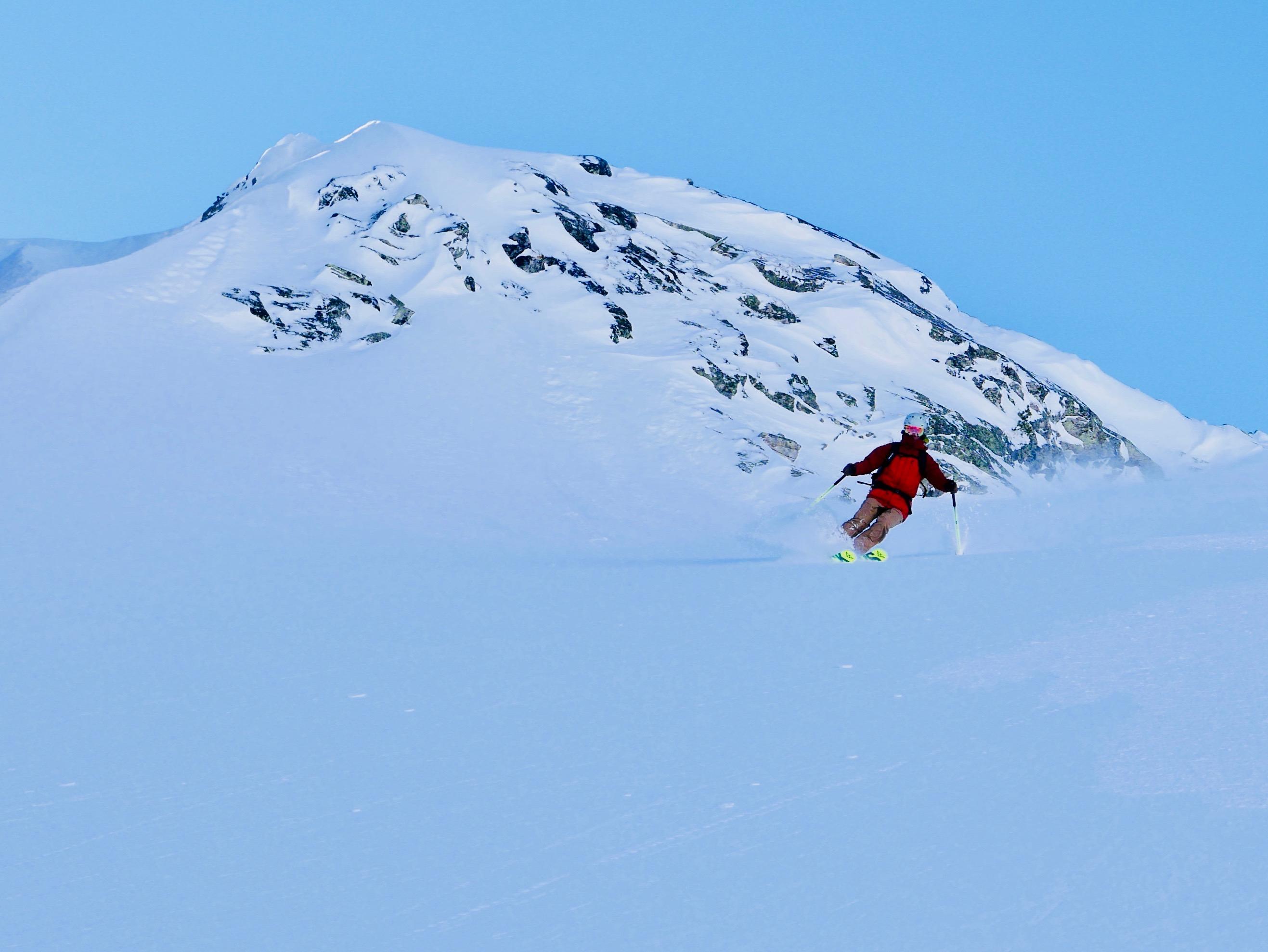 Off piste skiing East Tyrol